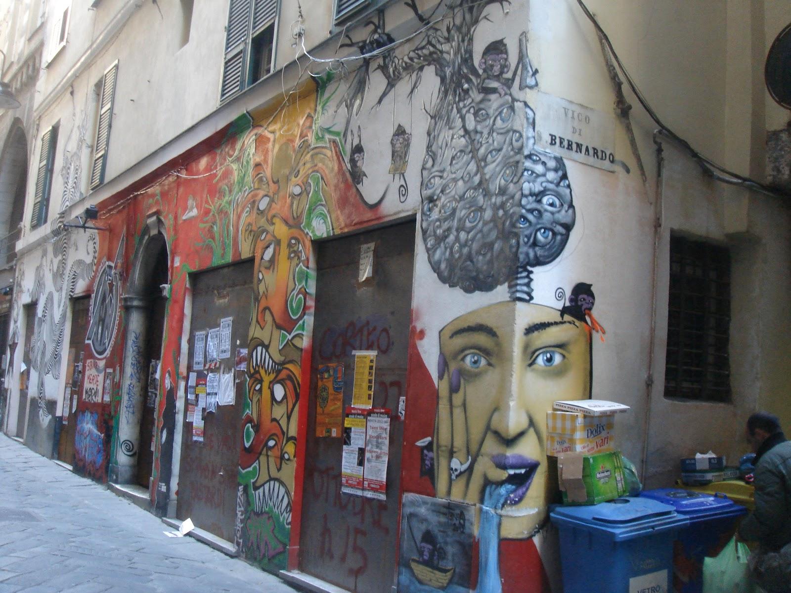 """Trinità di Casina, capitale della """"street art"""""""