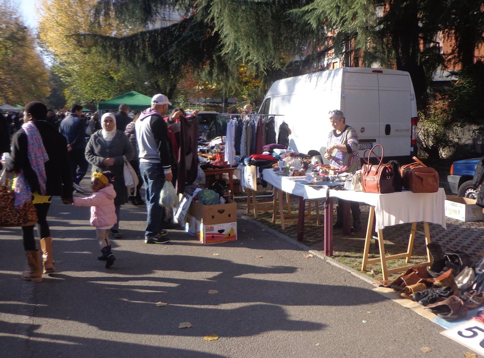 Torna il mercatino del riuso in POLVERIERA