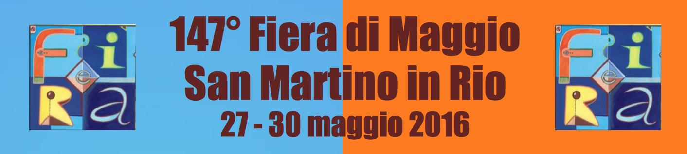FIERA DI MAGGIO –San Martino in Rio, 27-30 maggio