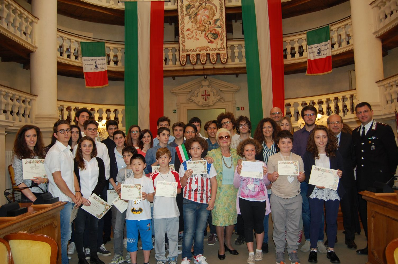 Ecco gli studenti più bravi di Reggio