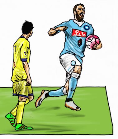 Tutto il calcio…FUMETTO per FUMETTO!