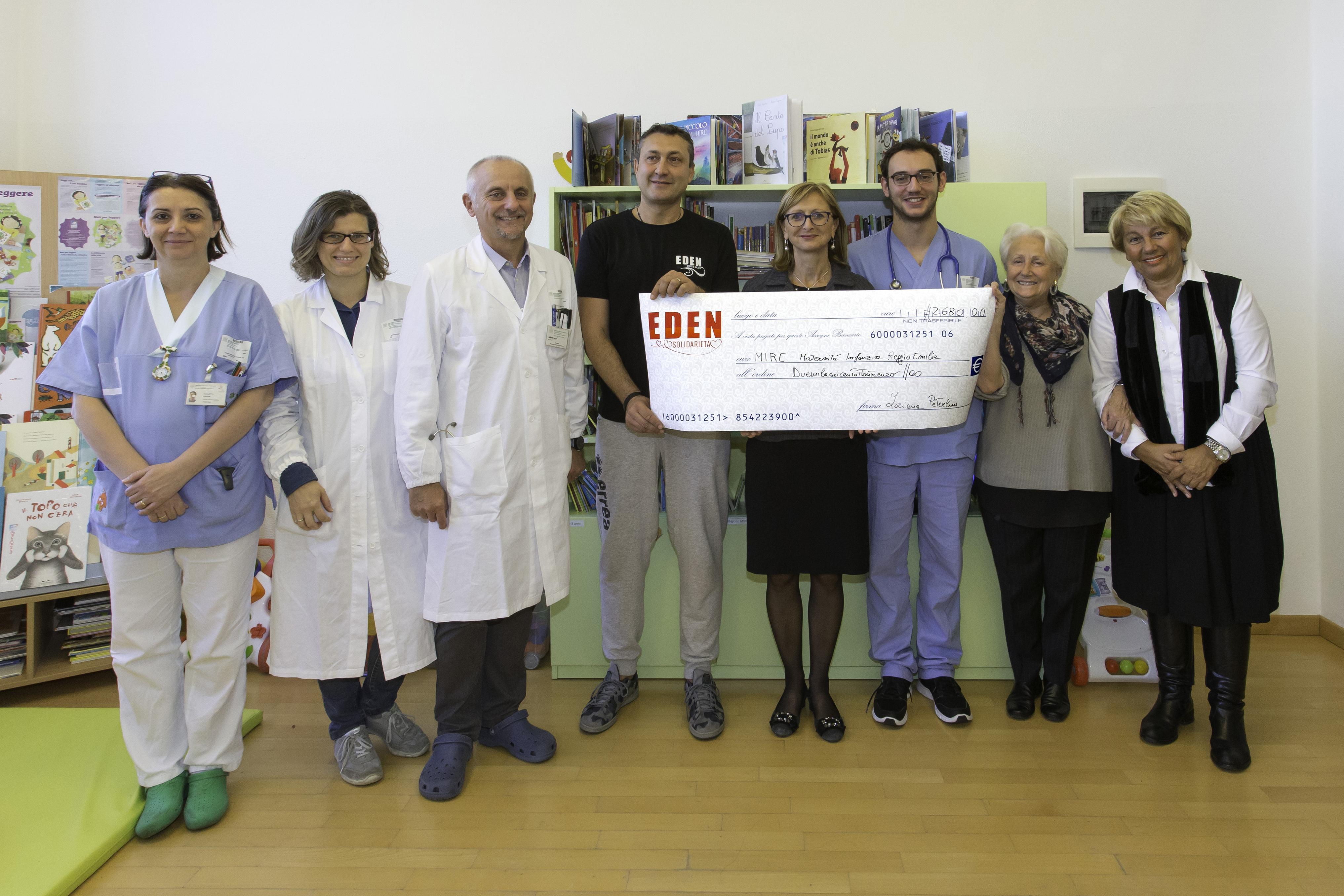 Dall'Eden 2.860 euro per il progetto Mire