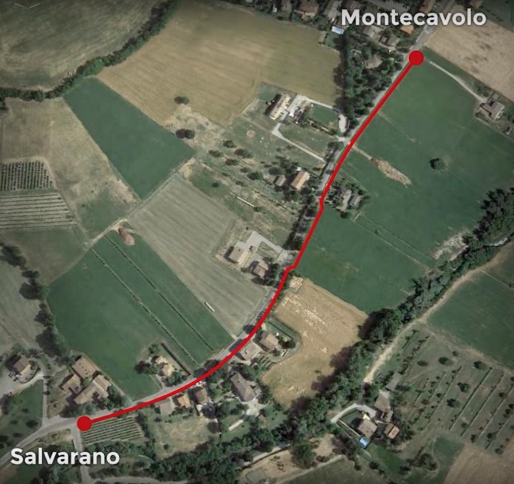 In bici da Montecavolo a Salvarano: ok alla pista ciclo-pedonale