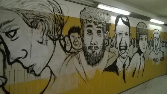 Disegnare sui muri? SI PUO'!