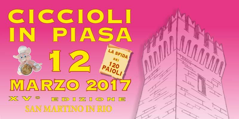 CICCIOLI IN PIASA XV EDIZIONE – San Martino in Rio