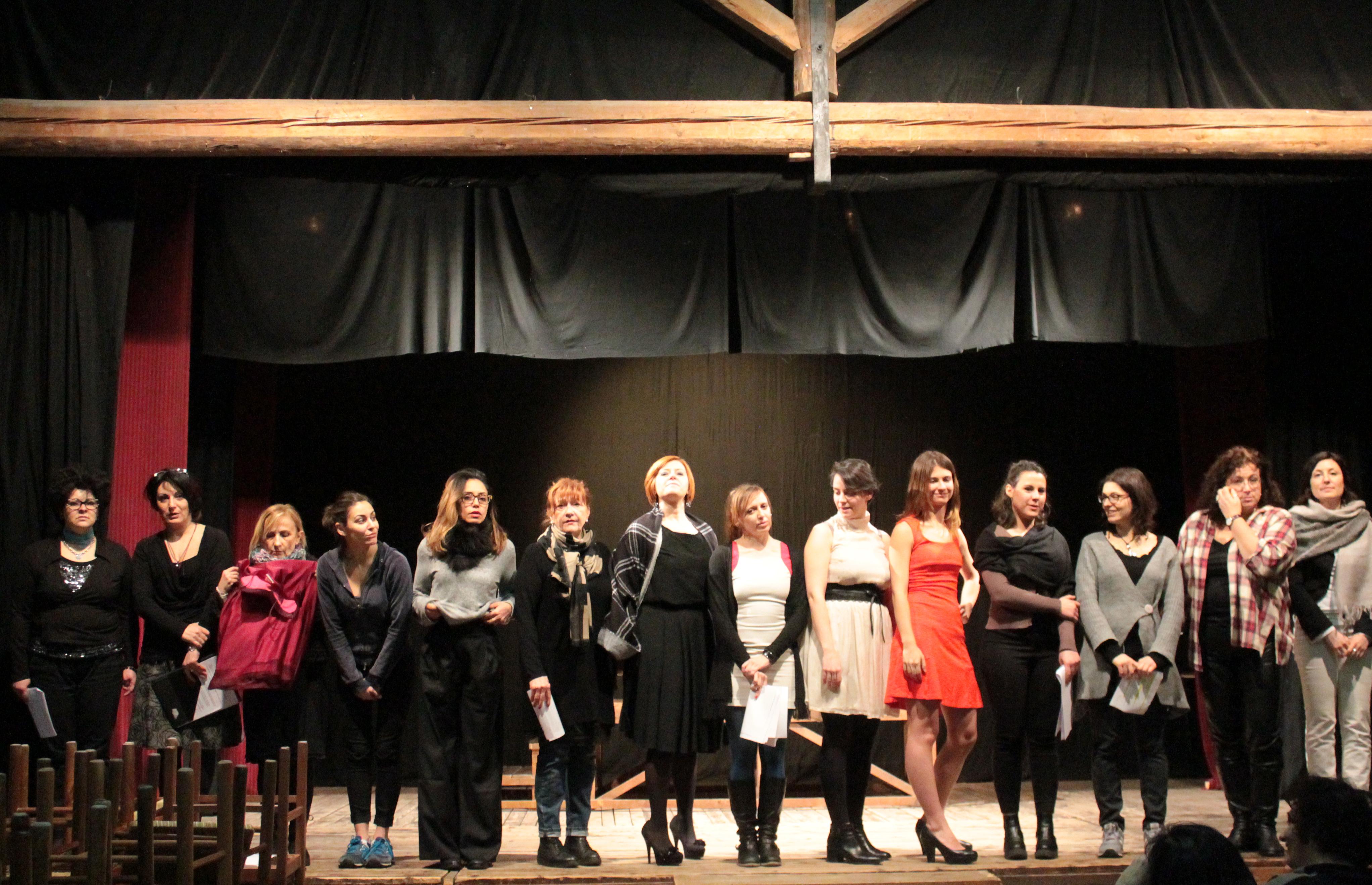 A teatro per le donne. Con anche un uomo