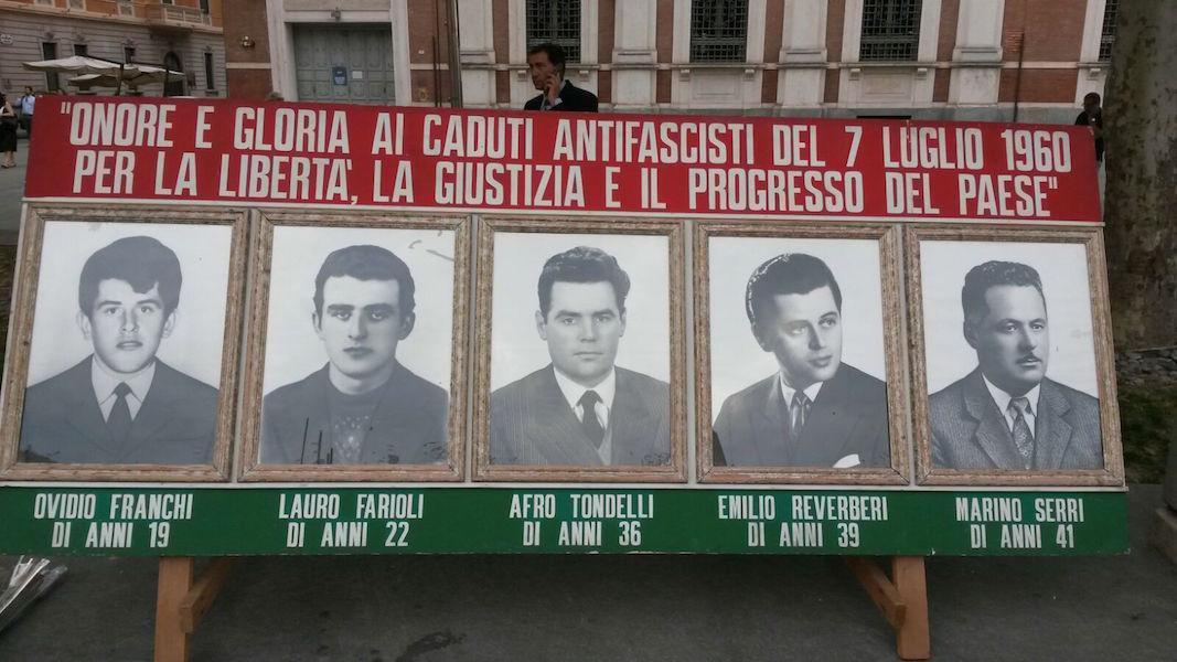 SETTE LUGLIO, Reggio non dimentica!