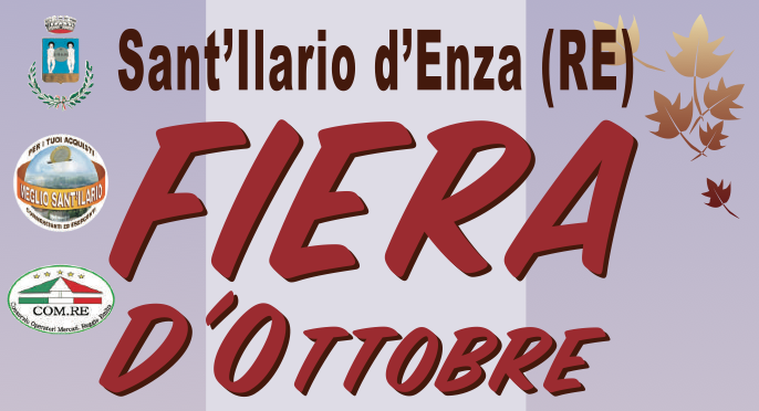 Programma Fiera d'Ottobre 2017 – SANT'ILARIO D'ENZA