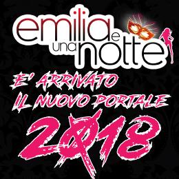 Emilia e una notte 2018 banner