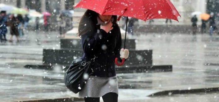 Le previsioni: fine mese con piogge, freddo e possibili nevicate