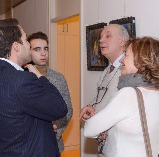 BFMR&PARTNERS: INAUGURATA LA MOSTRA DI FAUSTO DE NISCO