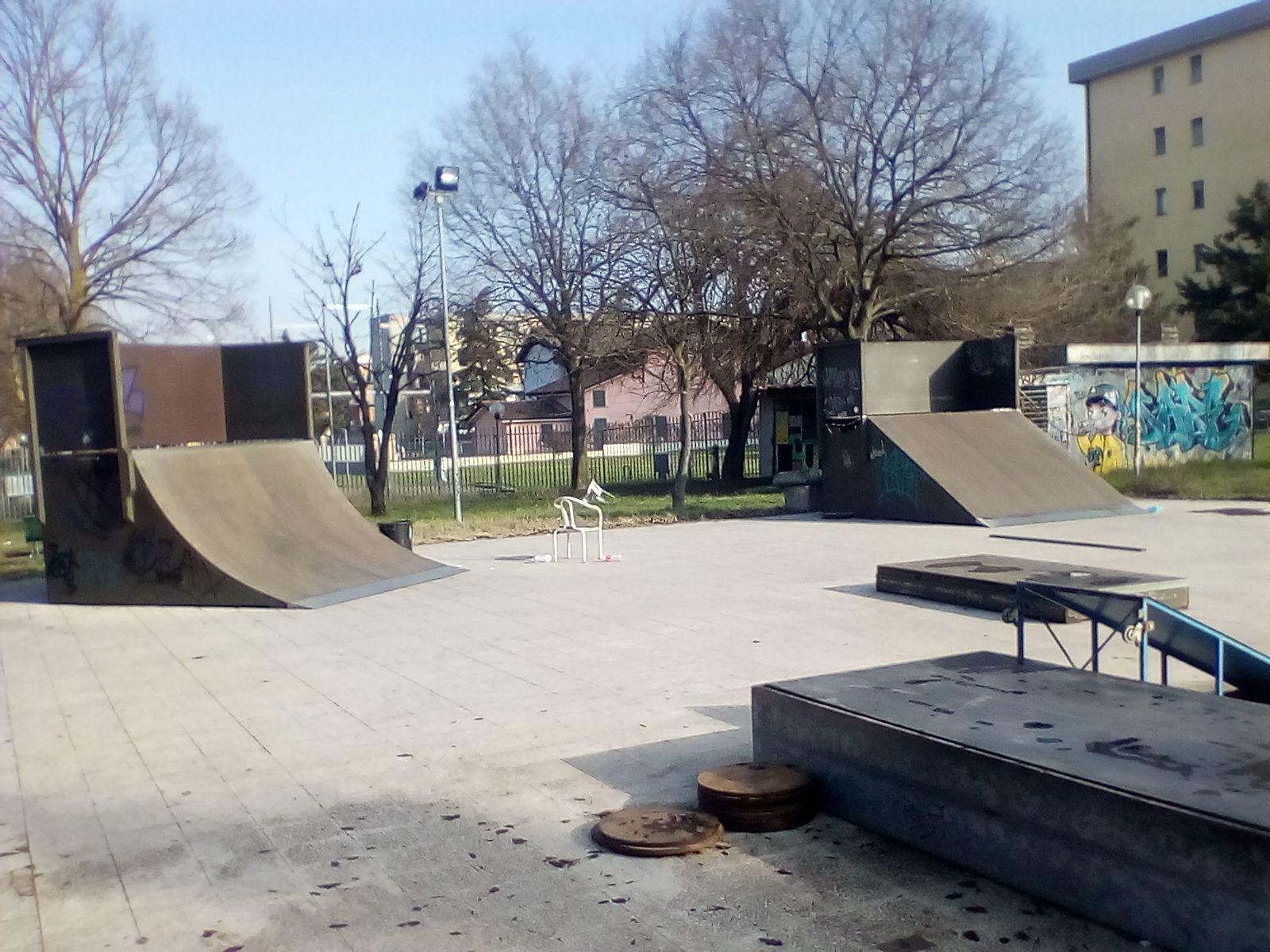 VIA PREMUDA: il degrado dello Skate Park voluto da Delrio