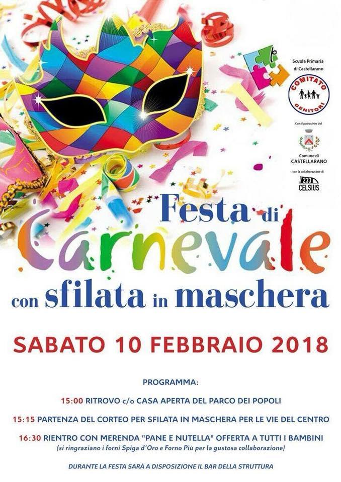 CASTELLARANO  – CARNEVALE E ALTRI EVENTI