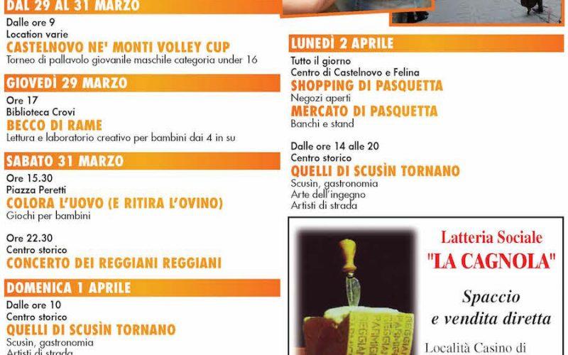 Speciale Pasqua a Castelnovo ne' Monti