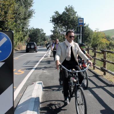 Salvarano: inaugauata la nuova pista ciclabile di collegamento a Montecavolo