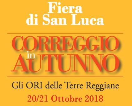 Il programma della FIERA DI SAN LUCA – Correggio