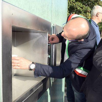 """L'acqua """"del sindaco"""" arriva a CELLA"""