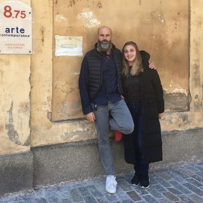 """MOSTRA: BARICCHI E LAZZARON """"IN DIALOGO"""" ALLA GALLERIA 8,75"""