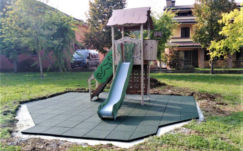 Giochi nuovi nei parchi di Albinea