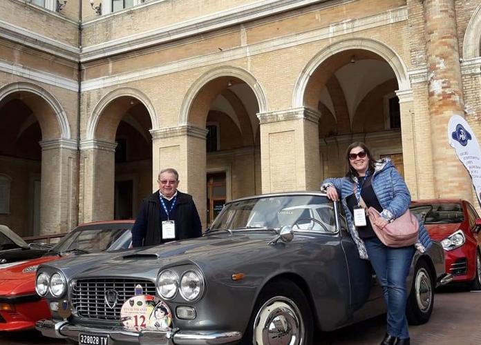 Tappa reggiana per il GIRO D'ITALIA delle auto storiche