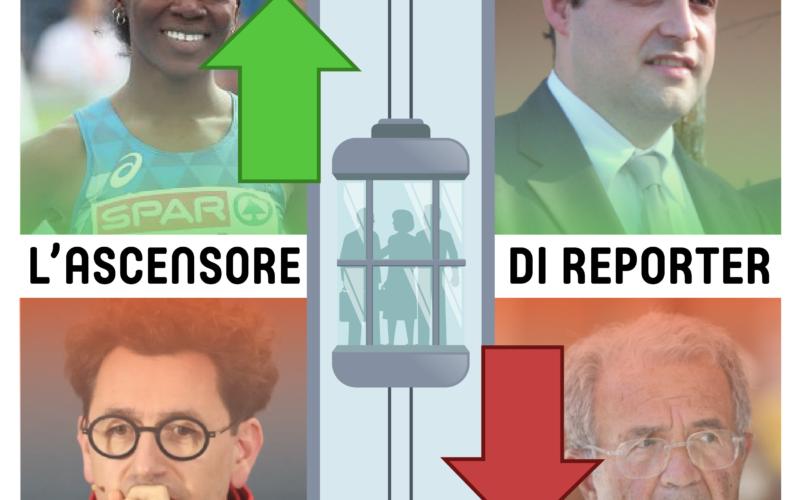 L'ASCENSORE DI REPORTER – 4 Settembre 2020