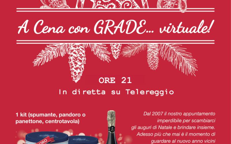 La Cena di Natale del GRADE in formato virtuale